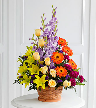Forever Dear Arrangement- BASKET INCLUDED