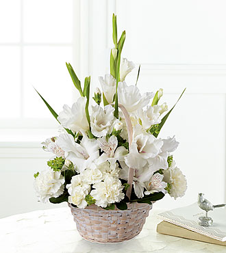Eternal Affection Arrangement- BASKET INCLUDED